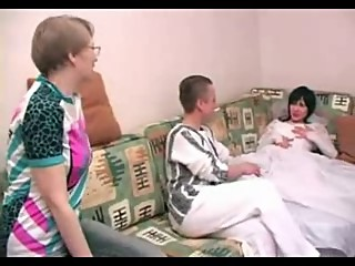 Horny Mature Mom joins not Her Son and..