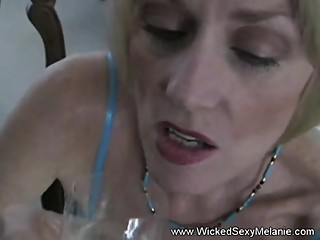 Sloppy Wet Blowjob For Stepson