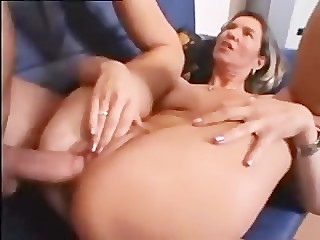 Mother Son French big nipples hoop..