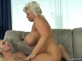 Claudia Marie fucks son'f friend after..