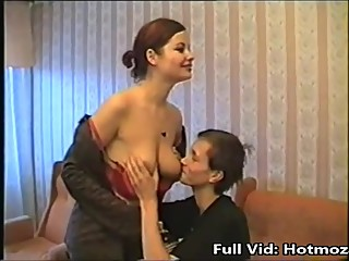Russian step mom son sex