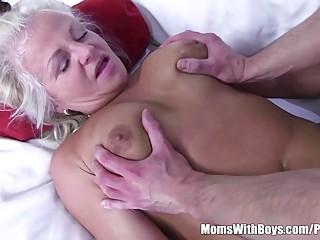 Stepmom Bribes Stepson with Sex to Keep..